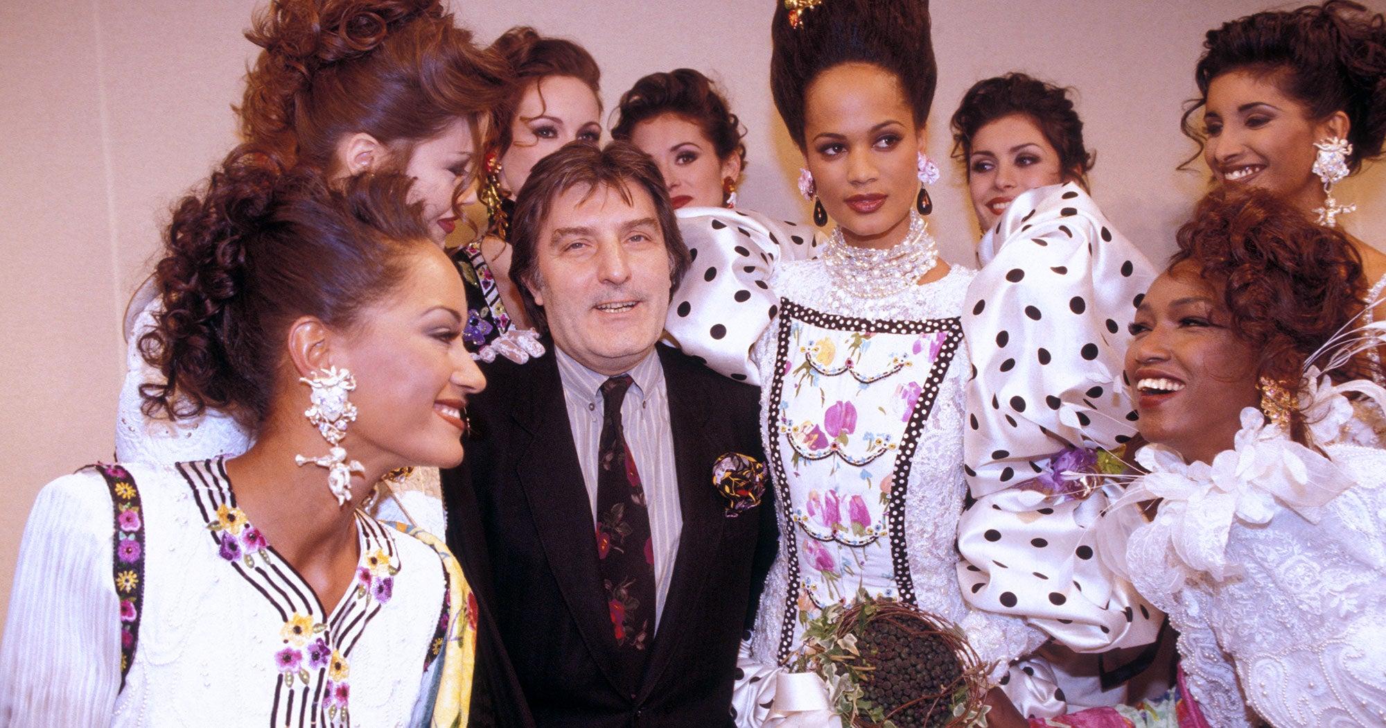 Designer Emanuel Ungaro Is Dead At 86