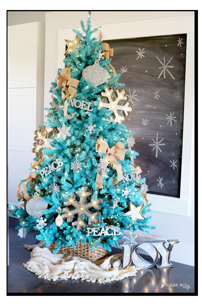 Blogger's Best: Christmas tree decorating ideas